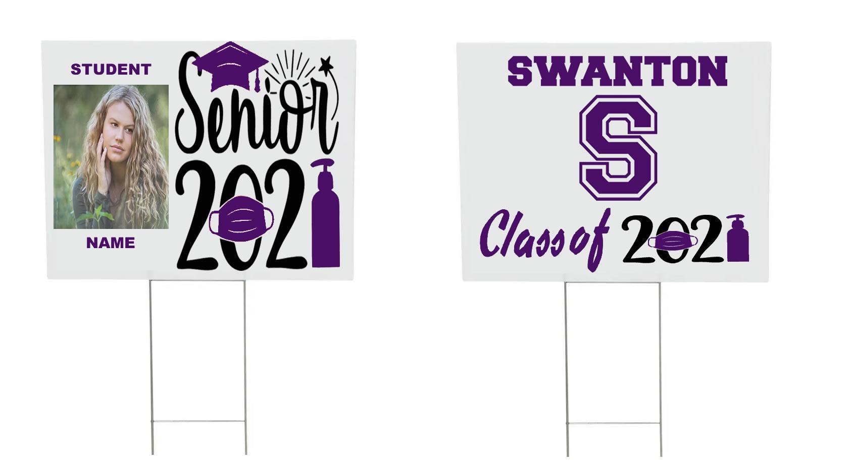 Senior 2021 Graduation Yard Sign