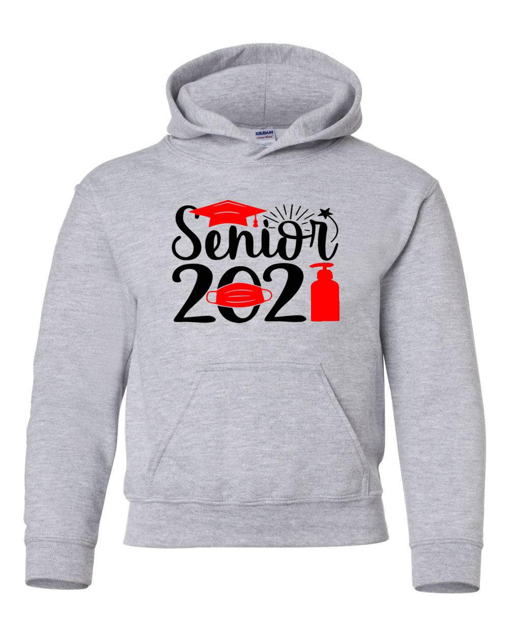 Senior 2021 Pandemic Style Hoodie