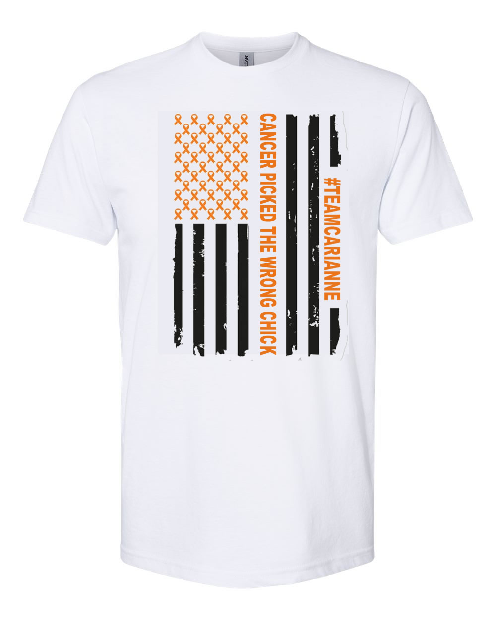 #TeamCarianne Leukemia T-Shirts