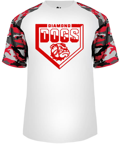 Diamond Dogs Camo Sport Performance T-Shirt