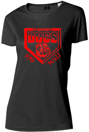 Diamond Dogs Ladies Cooling Performance T-Shirt