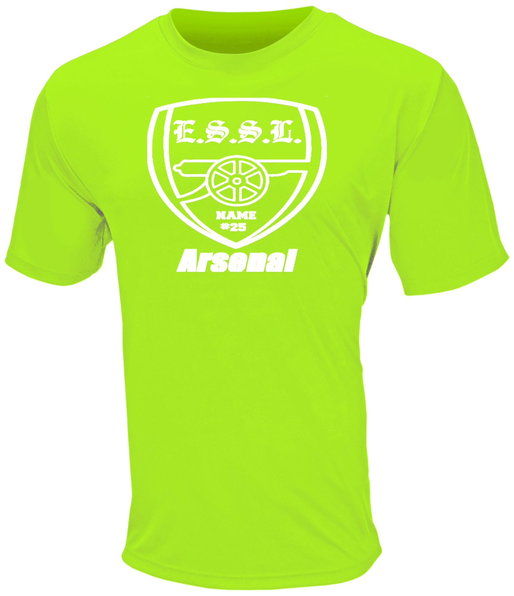 E.S.S.L. Soccer Club Cool Performance T
