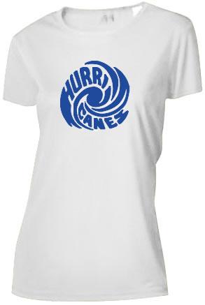 Hurricanes Swirl Logo Ladies Cooling Performance T-Shirt