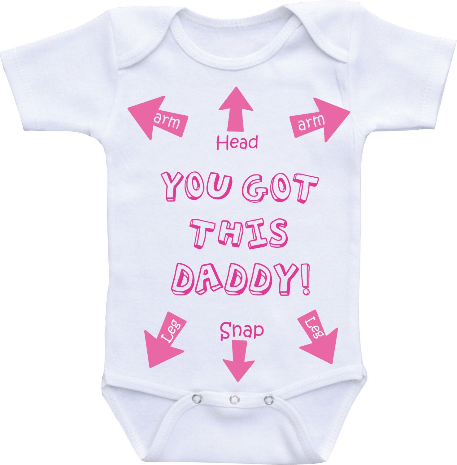 You Got This Daddy Infant Bodysuit