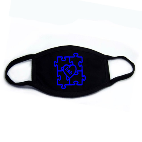 Autism Dad Face Mask