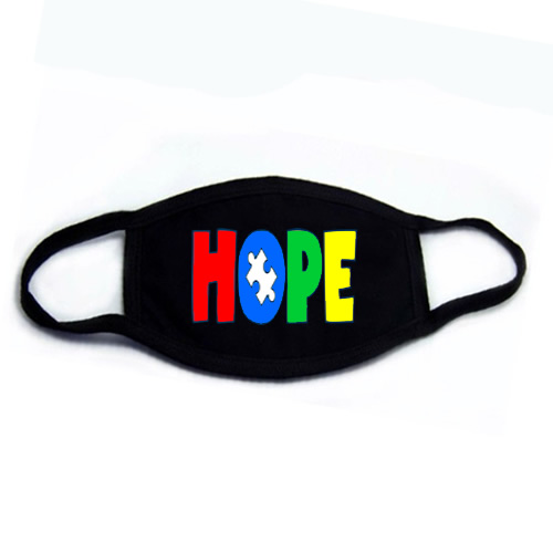 Autism HOPE Face Mask