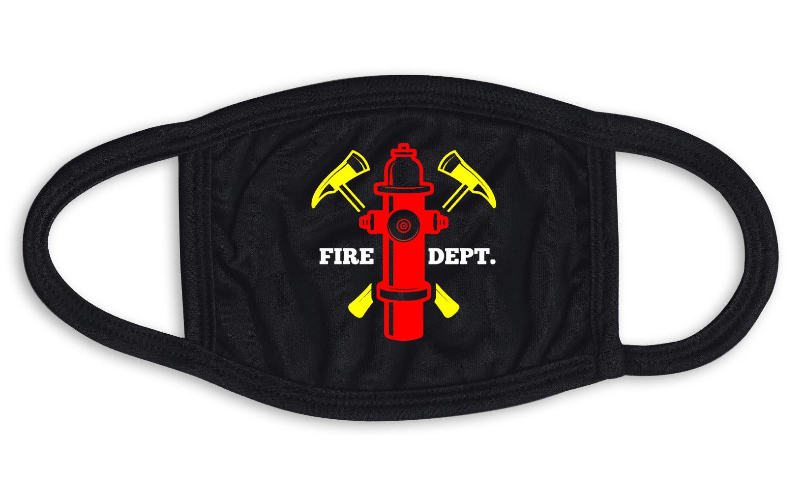 Fire Hydrant Emblem Face Mask