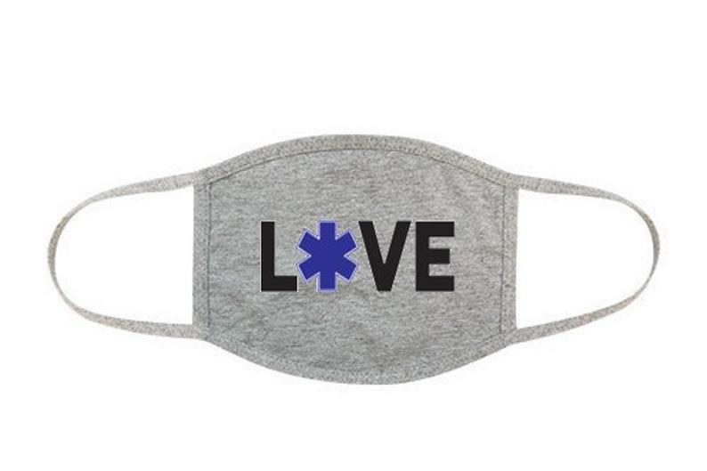 Love EMT Face Mask