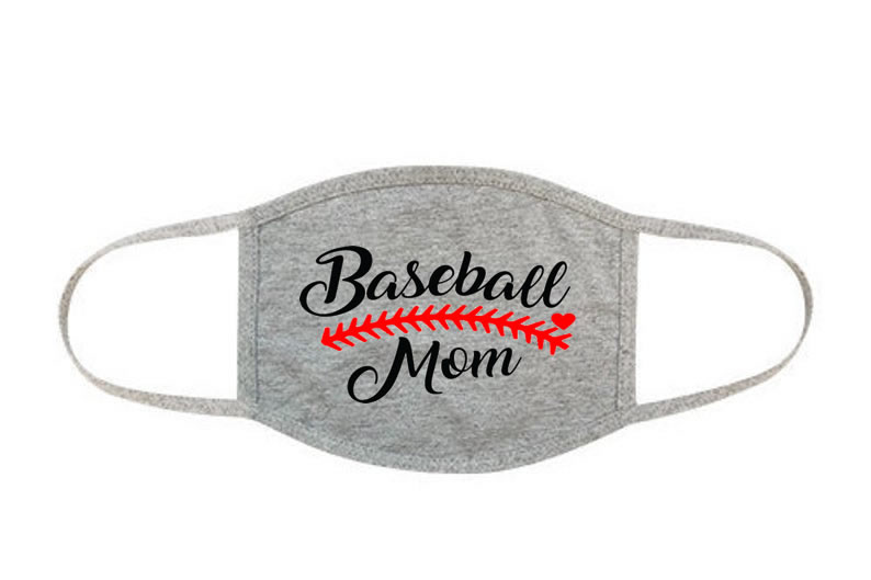 Baseball Mom Face Mask