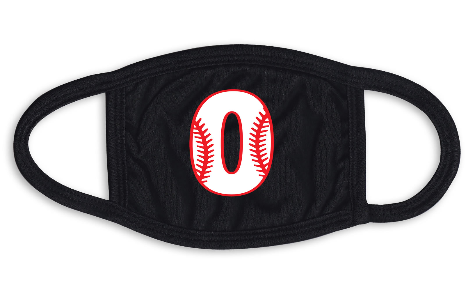 Player Number Baseball Stitches Face Mask