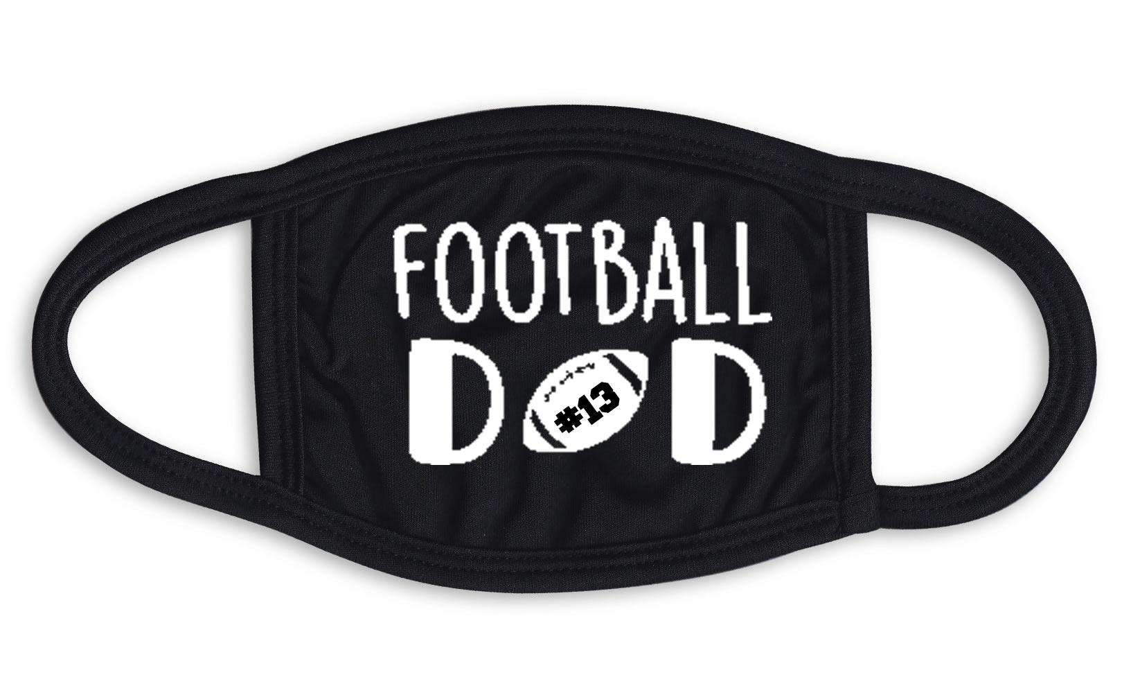Football Dad Face Mask