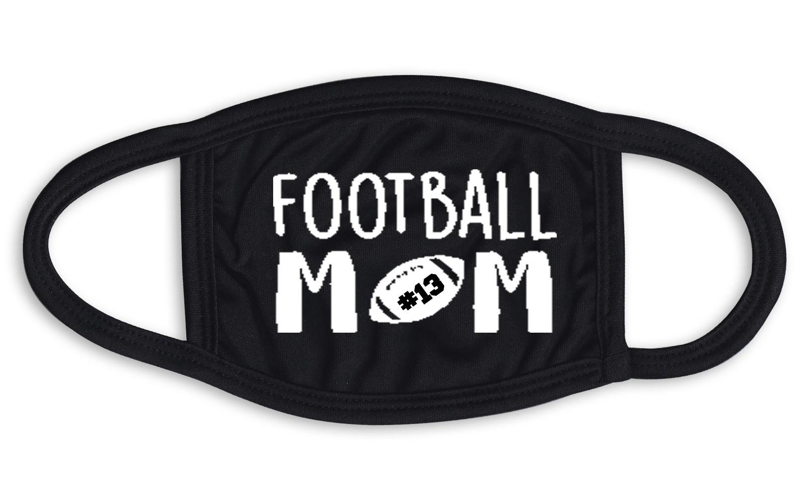 Football Mom Face Mask