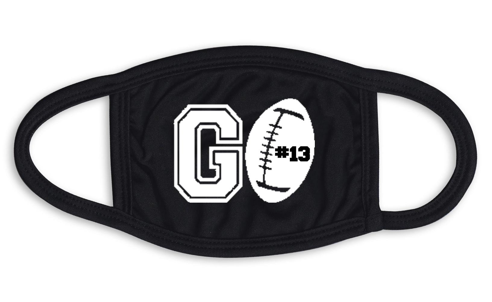 Go Football Face Mask