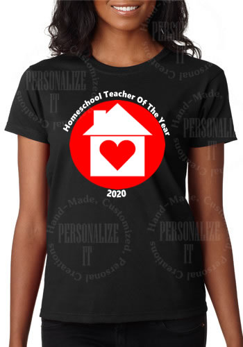 Homeschool Teacher Of The Year 2020 T-Shirt