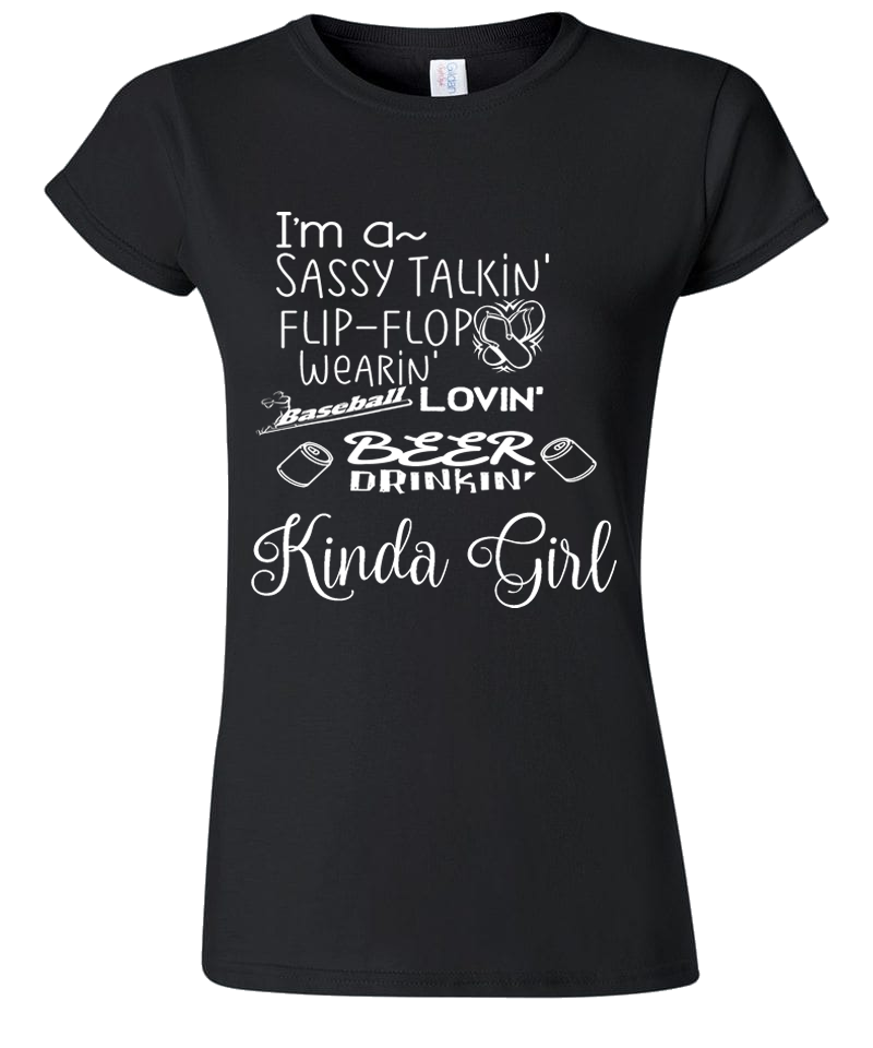 Baseball Loving Girl Shirt