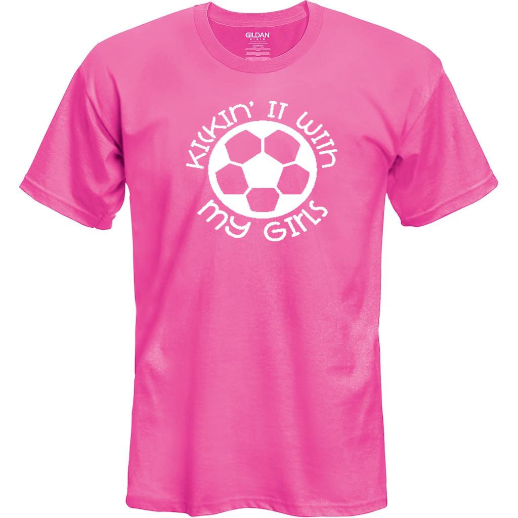 Kickin' It With My Girls Soccer Shirt