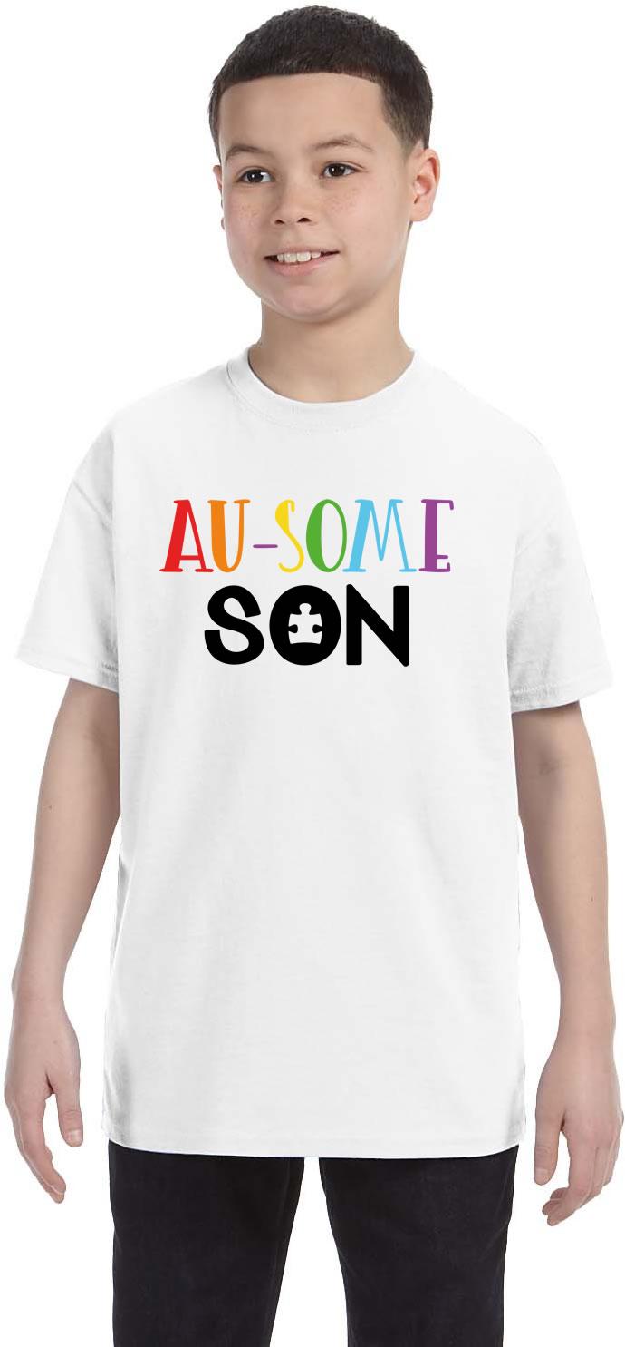 Au-Some Son Autism Awareness Shirt
