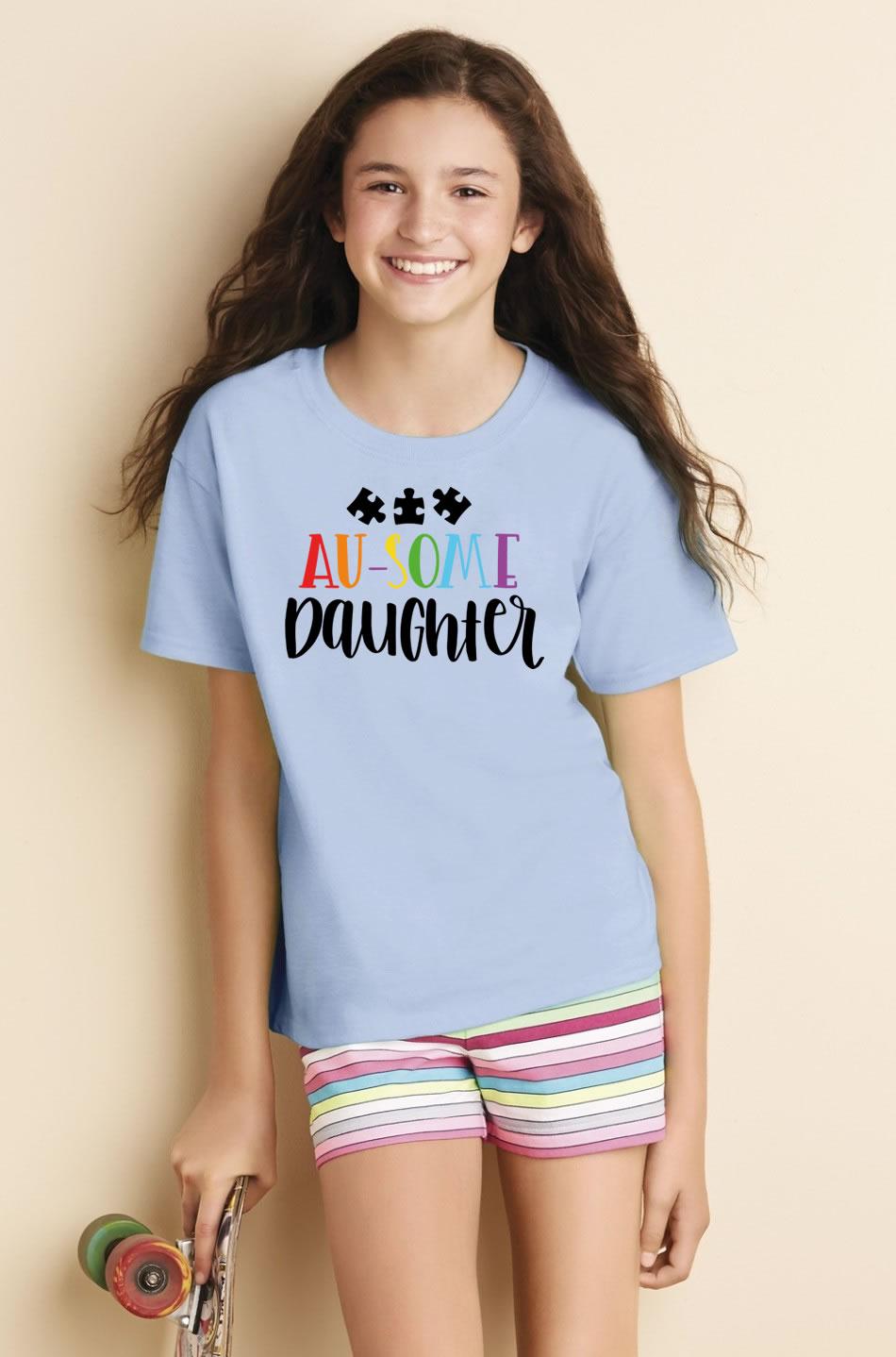 Au-Some Daughter Autism Awareness Shirt