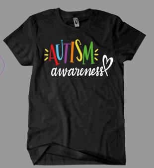 Autism Awareness Script Shirt