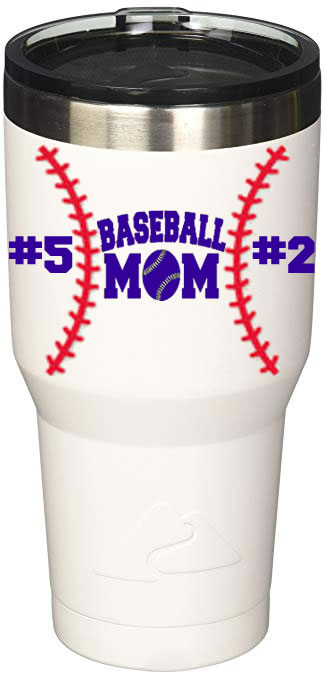 Baseball Mom Number(s) 30 oz. Ozark Tumbler